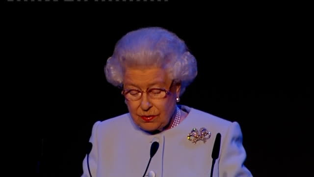 Queen Elizabeth opens Round Square International Conference Queen Elizabeth speech SOT I'm very pleased to be here at the invitation of your...
