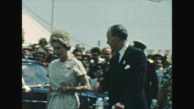Queen Elizabeth Prince Philip Procession in fair grounds