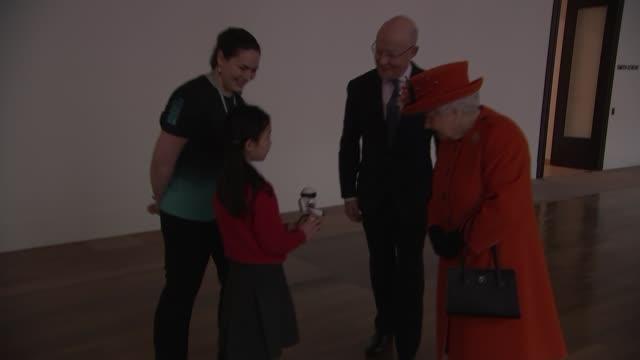 queen elizabeth visits science museum england london south kensington science museum ext queen elizabeth ii from car and enters science museum queen... - enigma machine stock videos & royalty-free footage