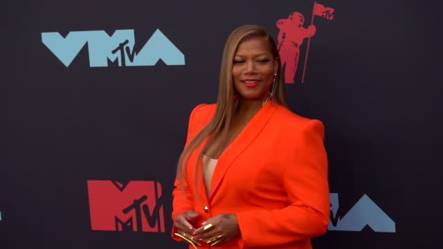 queen latifah at 2019 mtv video music awards at prudential center on august 26 2019 in newark new jersey - mtv1 stock videos & royalty-free footage