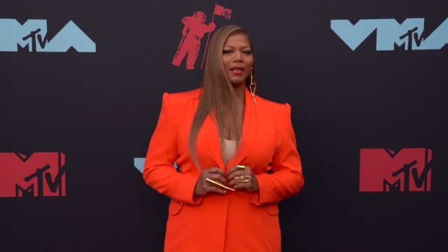 queen latifah at 2019 mtv video music awards at prudential center on august 26 2019 in newark new jersey - mtv video music awards stock videos & royalty-free footage