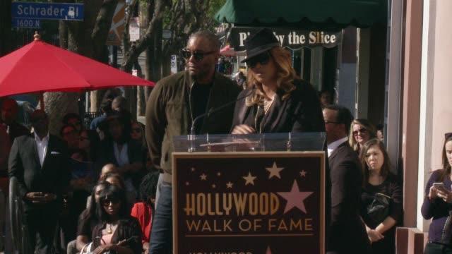 vídeos y material grabado en eventos de stock de speech queen latifah at hollywood walk of fame on december 02 2016 in hollywood california - queen latifah