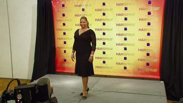 queen latifah at the 2007 showest at the paris hotel in las vegas, nevada on march 14, 2007. - paris las vegas stock videos & royalty-free footage