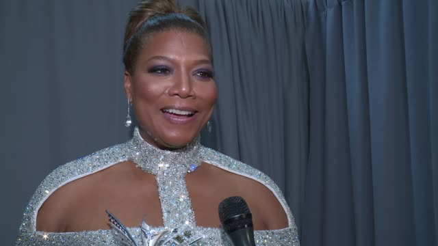 interview queen latifah talks about growing up loving princess grace and being honored tonight at the 2016 princess grace awards gala at cipriani 25... - cipriani manhattan stock videos & royalty-free footage