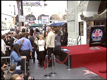 queen latifah walk of fame star 1 of 2 at the dediction of queen latifah's walk of fame star at the hollywood walk of fame in hollywood, california... - walk of fame stock videos & royalty-free footage
