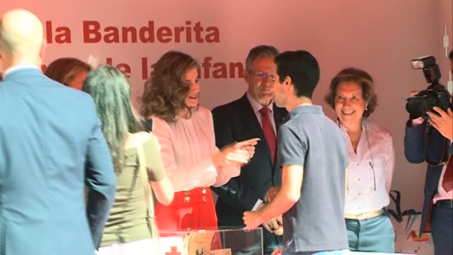 Queen Letizia of Spain attends the Red Cross Fundraising Day