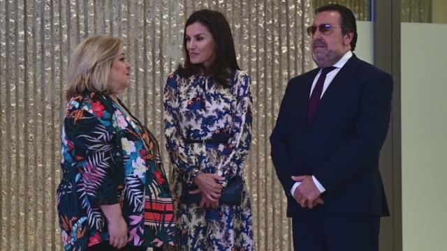 ESP: Queen Letizia Of Spain deliver DISCAPNET Awards