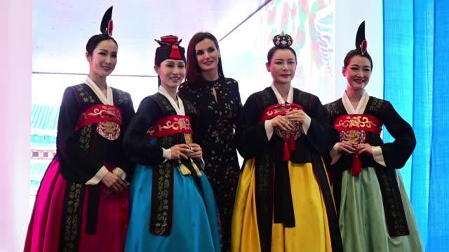 ESP: Spanish Royals Attend FITUR Tourism Fair