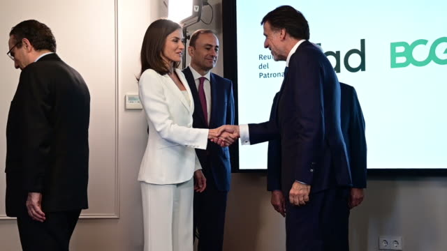 ESP: Queen Letizia of Spain Visits the FAD