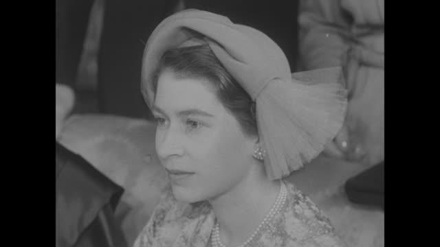 Queen Mary King George VI Princess Elizabeth Prince Philip Prince Charles Queen Mother Elizabeth / Princess Elizabeth with infant Princess Anne /...