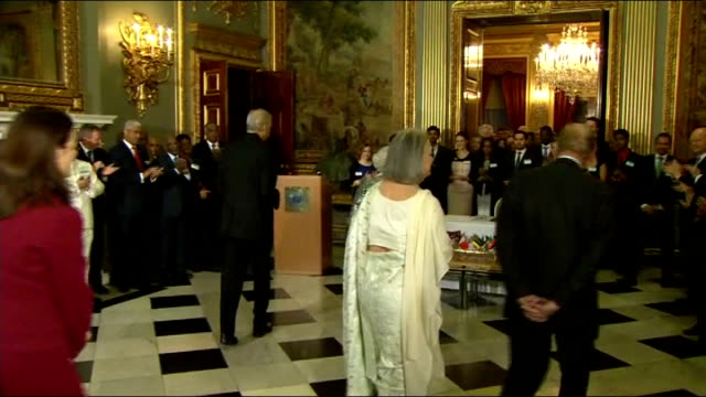 queen signs commonwealth charter after missing earlier engagement due to illness england london marlborough house photography** queen elizabeth ii... - elizabeth i of england stock videos & royalty-free footage