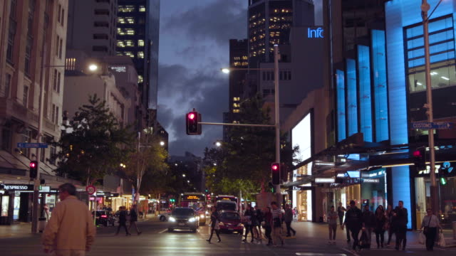 queen street auckland city. - mode of transport stock videos & royalty-free footage