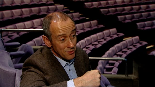 queen visits national theatre on it's golden anniversary; national theatre: int nicholas hytner interview sot - we have constantly tried to reflect... - patchwork stock videos & royalty-free footage