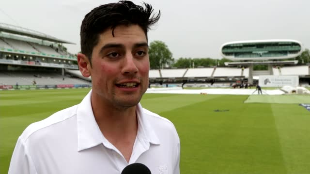queen's birthday honours alastair cook interview sot - itv london tonight weekend点の映像素材/bロール