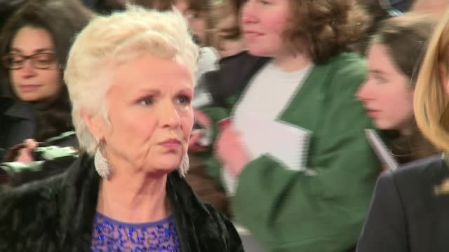 Queen's Birthday Honours and Queen's Civilian Gallantry List announced LIB / 1422016 Julie Walters along at BAFTA Film Awards 2016
