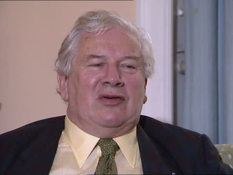 queen's birthday honours list 1990; int sir peter ustinov intvwd; - itv news at one stock videos & royalty-free footage