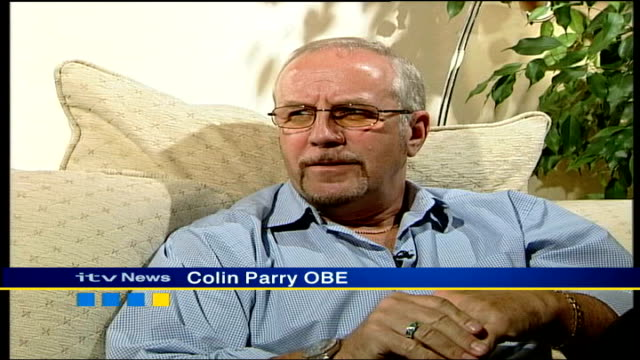 Queen's birthday honours list ITN INT Colin Parry OBE interview SOT govt and prominent people have recognised what you've done