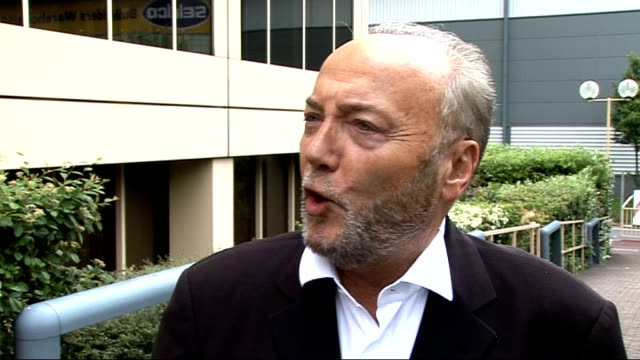 queen's birthday honours list recipients announced george galloway mp interview sot grotesque idea to bring back the word empire lambeth clelland... - lambeth stock-videos und b-roll-filmmaterial
