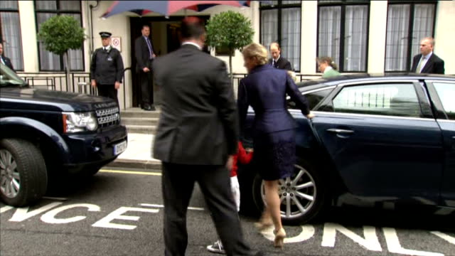 queen's diamond jubilee prince philip misses final day of celebrations england london ext prince edward sophie countess of wessex and children from... - lady louise windsor stock videos and b-roll footage