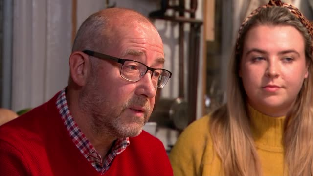 Queen's Gallantry Medal presented to mother of murdered backpacker ENGLAND Les Jackson interview SOT