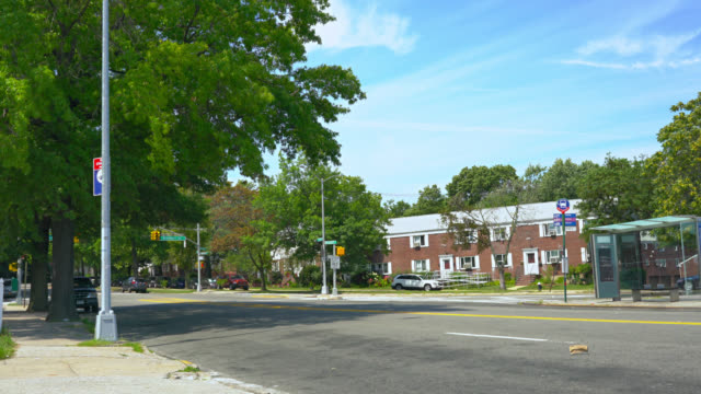 queens new york - flushing queens stock videos and b-roll footage