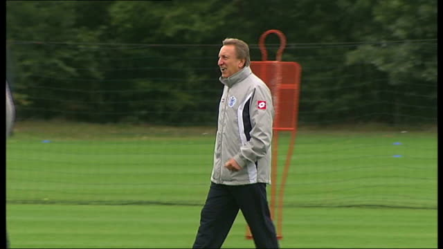 Queens Park Rangers hovering just above relegation zone R11081107 / EXT Neil Warnock at training session