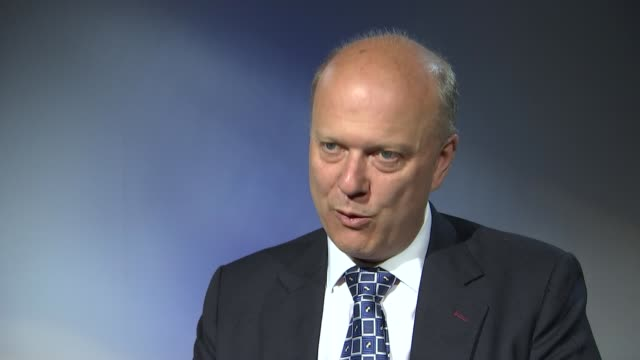 queen's speech/prison reform chris grayling intvw england london int chris grayling mp interview sot - prison reform stock videos & royalty-free footage