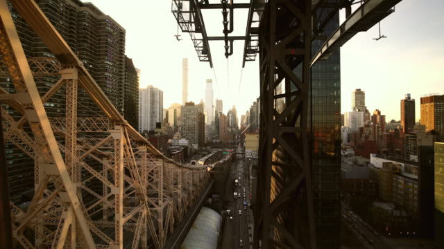 Queensboro Bridge and Manhattan skyline