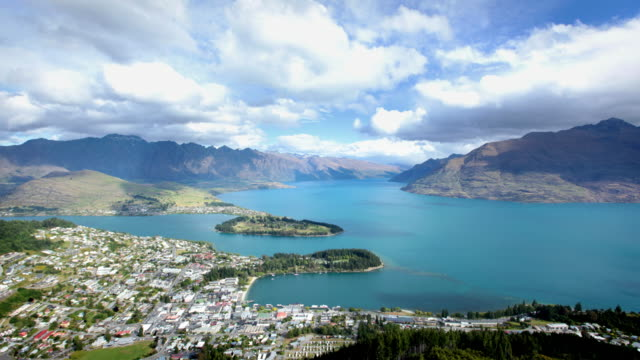 queenstown, new zealand - queenstown stock videos & royalty-free footage