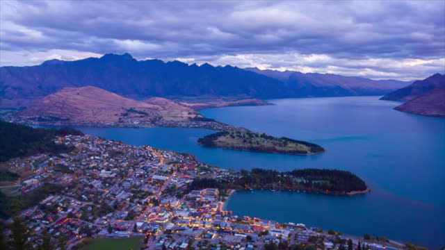 queenstown , south island, new zealand - queenstown stock videos & royalty-free footage