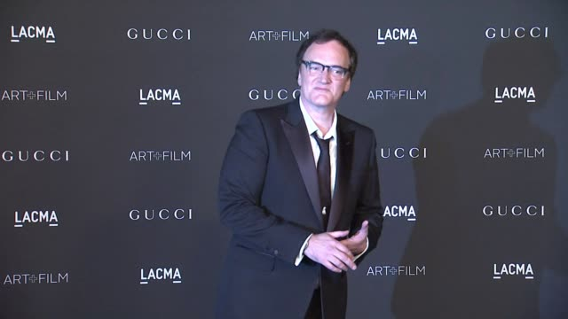 Quentin Tarantino at 2014 LACMA ArtFilm Gala Honoring Barbara Kruger And Quentin Tarantino Presented By Gucci in Los Angeles CA