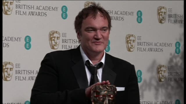 Quentin Tarantino at EE British Academy Film Awards 2013 Winners Room at The Royal Opera House on February 10 2013 in London England