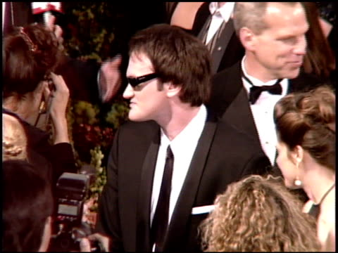 Quentin Tarantino at the 1995 Academy Awards Arrivals at the Shrine Auditorium in Los Angeles California on March 27 1995