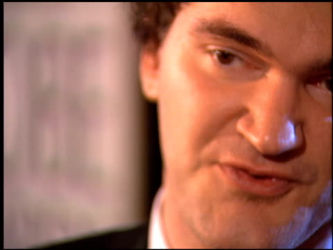 quentin tarantino at the 1995 golden globe awards at the beverly hilton in beverly hills california on january 21 1995 - 1995 stock videos & royalty-free footage