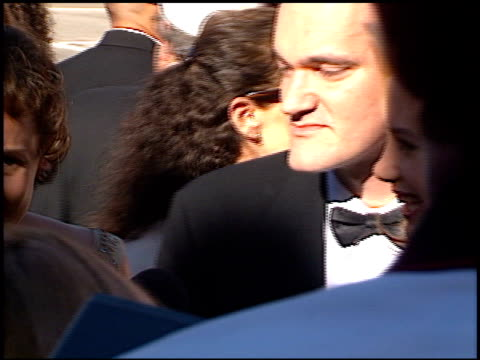 Quentin Tarantino at the 1996 Emmy arrivals at the Pasadena Civic Auditorium in Pasadena California on September 8 1996