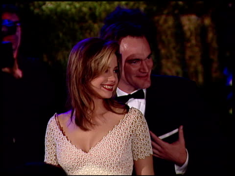Quentin Tarantino at the 1997 Academy Awards Vanity Fair Party at the Shrine Auditorium in Los Angeles California on March 24 1997