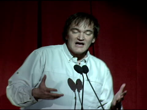 Quentin Tarantino at the 2008 RayBan Visionary Award Honoring Quentin Tarantino at Harry O's in Park City Utah on January 20 2008