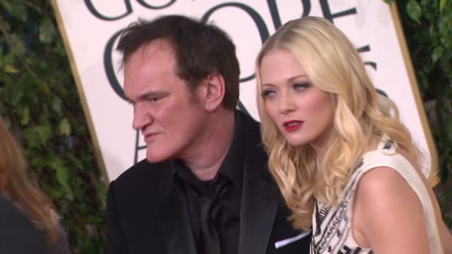 Quentin Tarantino at the 70th Annual Golden Globe Awards Arrivals in Beverly Hills CA on 1/13/13