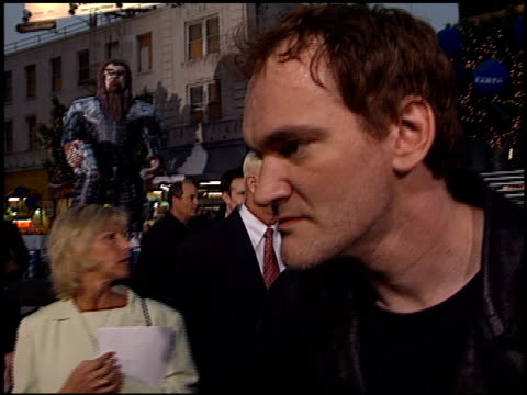 Quentin Tarantino at the 'Battlefield Earth' Premiere at Grauman's Chinese Theatre in Hollywood California on May 10 2000