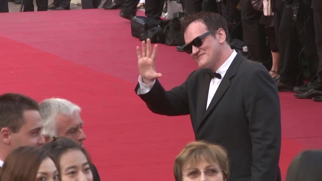 Quentin Tarantino at the Cannes Film Festival 2009 Vengeance Steps at Cannes