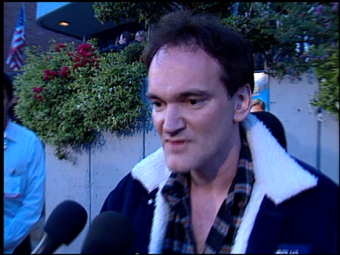 Quentin Tarantino at the Cat's Meow at Harmony Gold in Hollywood California on April 10 2002