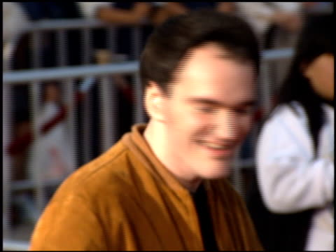 Quentin Tarantino at the 'Die Hard With a Vengence' Premiere on May 18 1995