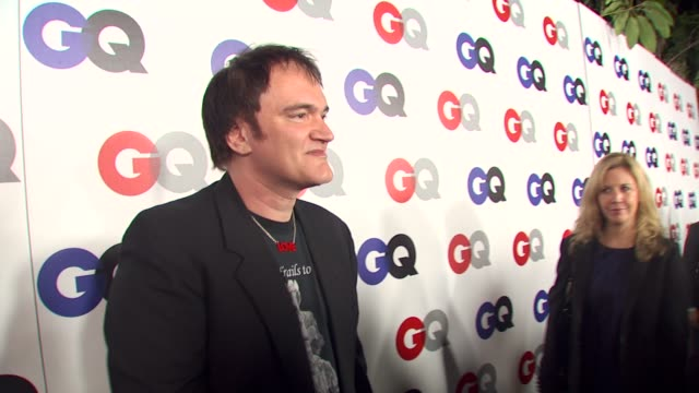 Quentin Tarantino at the GQ Magazine's 2009 'Men Of The Year' Party at Los Angeles CA