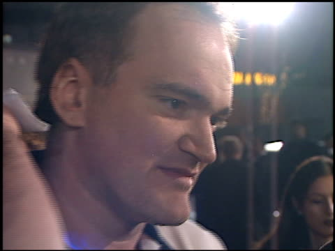 Quentin Tarantino at the Premiere of 'The Green Mile' at the Mann Village Theatre in Westwood California on December 6 1999
