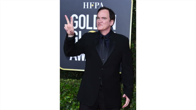 quentin tarantino attends the 77th annual golden globe awards at the beverly hilton hotel on january 05 2020 in beverly hills california - the beverly hilton hotel stock-videos und b-roll-filmmaterial