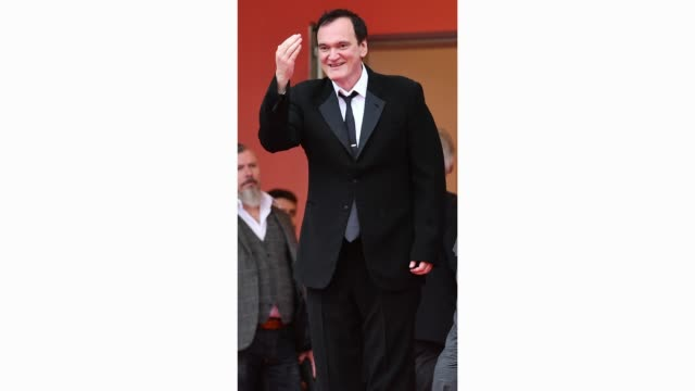 GIF Quentin Tarantino attends the screening of The Wild Goose Lake during the 72nd annual Cannes Film Festival on May 18 2019 in Cannes France