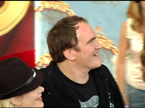 Quentin Tarantino Darryl Hannah and guests at the 2005 MTV Movie Awards Arrivals at the Shrine Auditorium in Los Angeles California on June 4 2005
