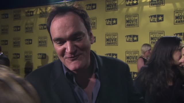 Quentin Tarantino on what makes the Critics Choice Awards different from any other award show what he attributes the film's success to if he has a...