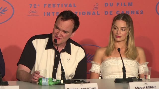 FRA: Tarantino rejects journalist's comment on Margot Robbie role