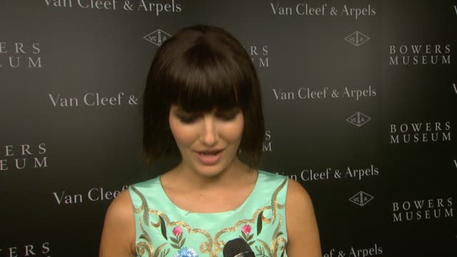 CLEAN 'A Quest For Beauty The Art Of Van Cleef Arpels'Bowers Museum Exhibit Gala in Los Angeles CA